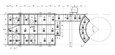 площадки обслуживания котла-утилизатора