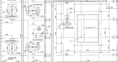 паровой котел Е-160-3,9-440 ГМ план