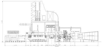 газовая турбина V64.34A чертеж 1