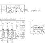компоновка оборудования газопоршневой электростанции