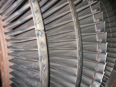 рабочие лопатки турбин