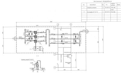 узел учета газа компоновка