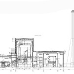 Компоновка оборудования главного корпуса угольной станции