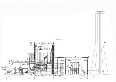 компоновка главного корпуса угольной тэц чертеж 1