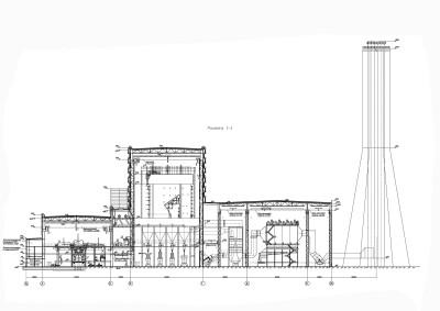 компоновка главного корпуса угольной тэц чертеж 2