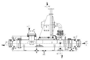 конденсатор пара уплотнений турбины