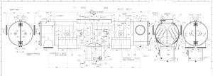 конденсатор турбины чертеж
