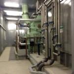 останов паровой турбины