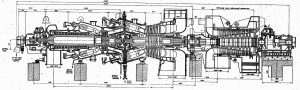 Газовая турбина ГТ-100-3М