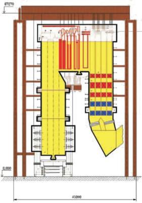 чертеж котла ПП-1800-515