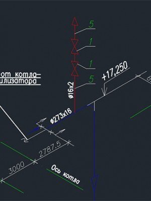 две запорных арматуры на воздушнике высокого давления