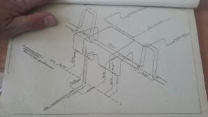 схема дренажей паропроводов высокого давления в расширитель дренажей высокого давления