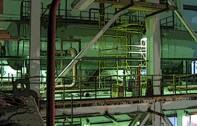деаэраторная этажерка