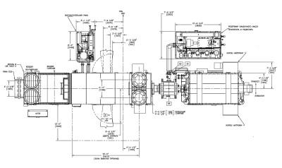LM2500 чертеж план