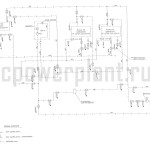Маслосистема турбоагрегата ПР-13/15,8-3,4/1,5/0,6  схема