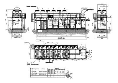 компрессорная установка чертеж