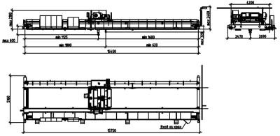 мостовой кран чертеж