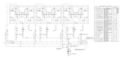 схема мазутопроводов и пара