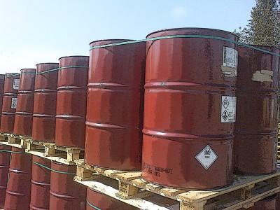 турбинное масло в бочках