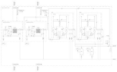 воздушная компрессорная схема