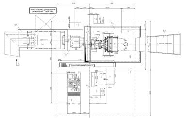 газовая турбина V64.34A чертеж 2