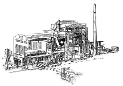 проектирование тепловых электрических станций