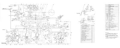 тепловая схема паровой турбины П-25-3,4/0,6