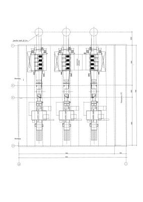 компоновка с газовой турбиной LM6000