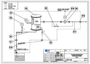 отделитель масляных паров схема
