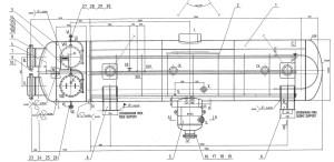 чертеж подогревателя сетевой воды 2