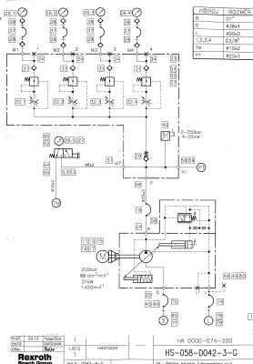 гидравлическая схема агрегата