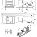 гидравлический агрегат подъемного масла