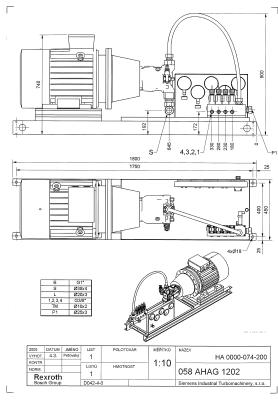 компоновка агрегата