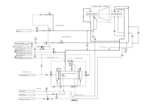 схема системы уплотнений турбины