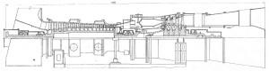 продольный разрез ГТЭ-115
