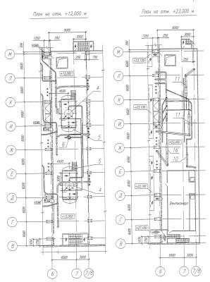 оборудование в деаэраторной этажерке