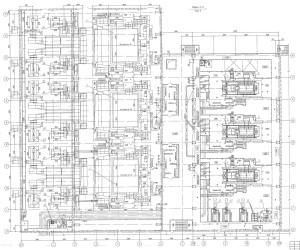 план расстановки оборудования ТЭЦ