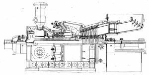 продольный разрез ГТЭ-350 ВА