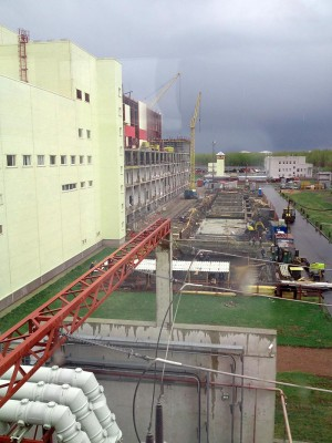 монтаж 2го энергоблока Юго-Западной ТЭЦ