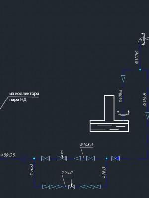 узел регулирования греющего пара для атмосферного деаэратора