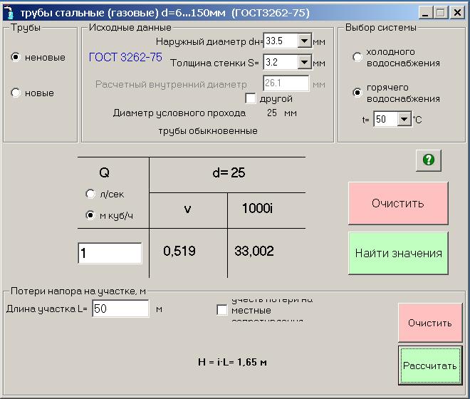скриншот программы таблицы щавелева