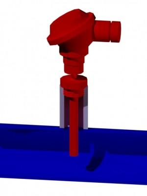 Термопреобразователь сопротивления 3d