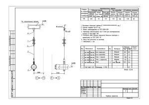 подвеска пружинная для трубопровода высокого давления
